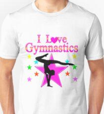 PRETTY PINK STAR GYMNASTICS DESIGN Unisex T-Shirt