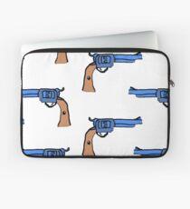 artsy gun pattern  Laptop Sleeve