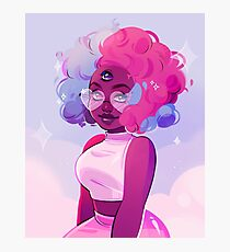 cotton candy Photographic Print