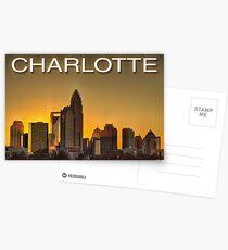 charlotte nc skyline Postcards