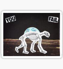 Yoginatomy Decoded Sticker