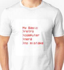 Retro Computer Nerd Unisex T-Shirt
