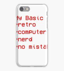 Retro Computer Nerd iPhone Case/Skin