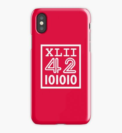 42 since the Romans VRS2 iPhone Case