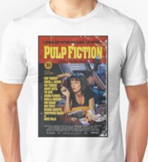 Camiseta ajustada Pulp Fiction Uma Thurman Póster