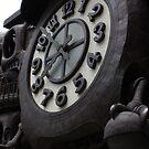 Nippon Terebi Plaza Clock, Shiodome Shimbashi, Tokyo by Weber Consulting