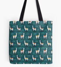 Really Calm Llamas Tote Bag