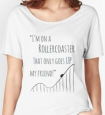 The Fault in Our Stars Rollercoaster Women's Relaxed Fit T-Shirt