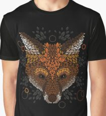 Fox Face Graphic T-Shirt