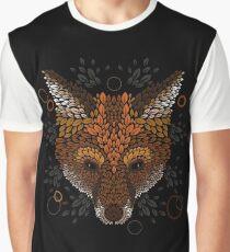 Fox Face Graphic T-Shirt