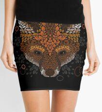 Fox Face Mini Skirt
