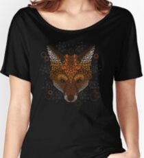 Fox Face Women's Relaxed Fit T-Shirt