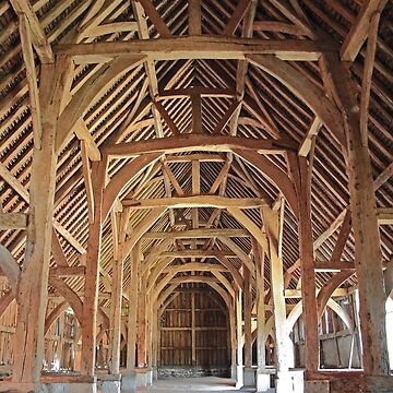 Harmondsworth Barn by GCooles