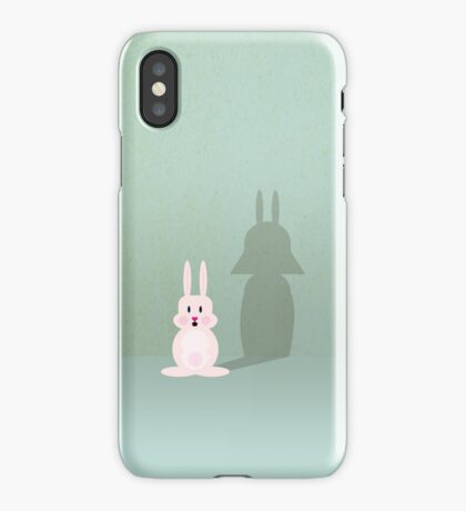 Bunny of the Dark Side VRS2 iPhone Case/Skin