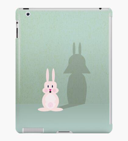 Bunny of the Dark Side VRS2 iPad Case/Skin