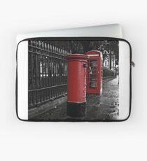 London Phone Box and Royal Mail Postal Box Laptop Sleeve
