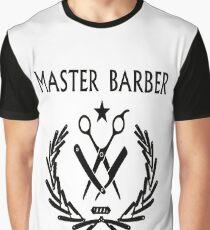 Master Barber Graphic T-Shirt