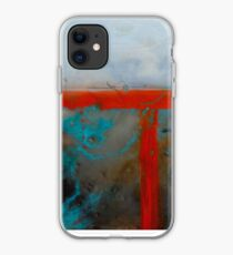 Geometric Encaustic on a cigar box iPhone Case