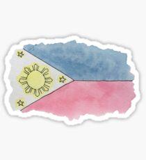 Filipino Flag Sticker