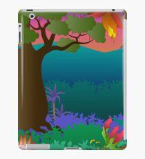 baobab tree scene iPad Case/Skin