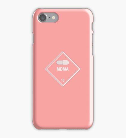 MDMA: Hazardous! iPhone Case/Skin