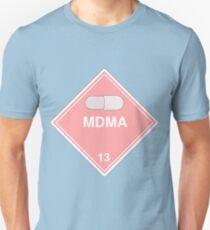 MDMA: Hazardous! Unisex T-Shirt
