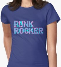 Bank Robber/Punk Rocker Womens Fitted T-Shirt