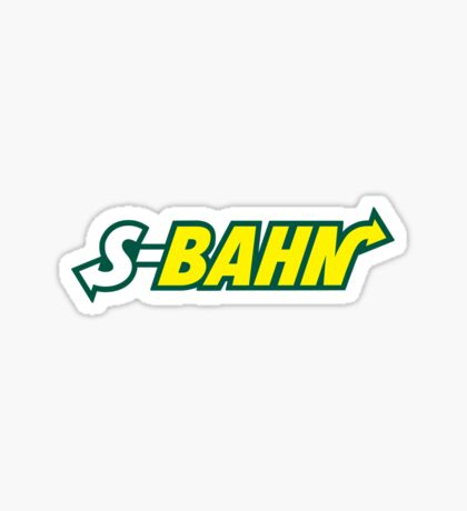 S-Bahn Sticker