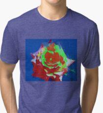 Shining rose Tri-blend T-Shirt
