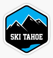 Ski Tahoe Badge Sticker
