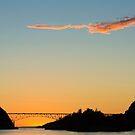 Deception Pass Final Sunset Summer 2016 (3) by Jim Stiles