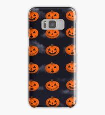 Jack-o-Lantern pattern Samsung Galaxy Case/Skin