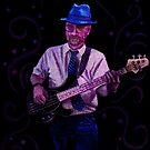 Blue Hat Bluesman by Lori Epperson