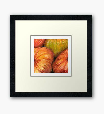 Pumpkins II Framed Print