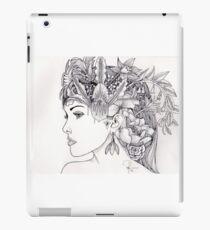 Floral Woman iPad Case/Skin