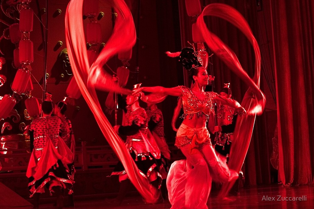 Tang Dynasty Dance - Xi'an, China by Alex Zuccarelli