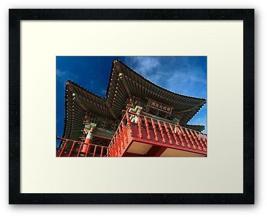 Buddhist Shrine - Gyeongju, South Korea by Alex Zuccarelli
