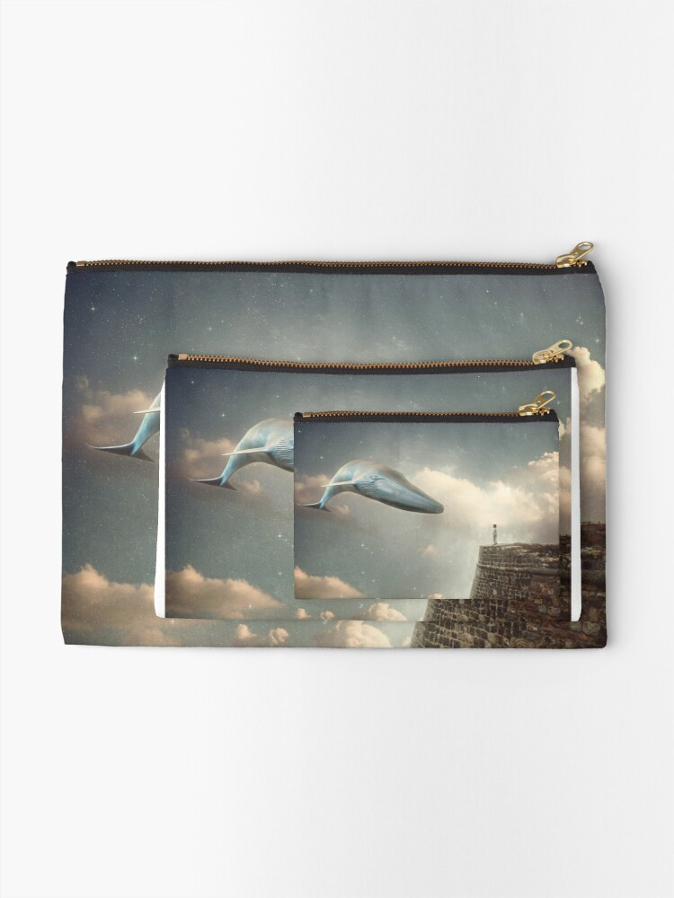 Alternate view of Dream sequence Zipper Pouch