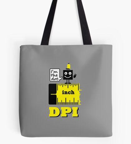 Dot per Inch VRS2 Tote Bag