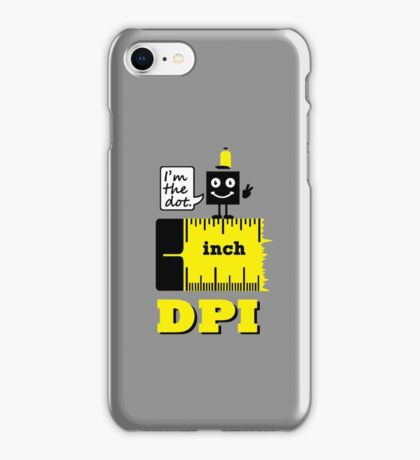 Dot per Inch VRS2 iPhone Case/Skin