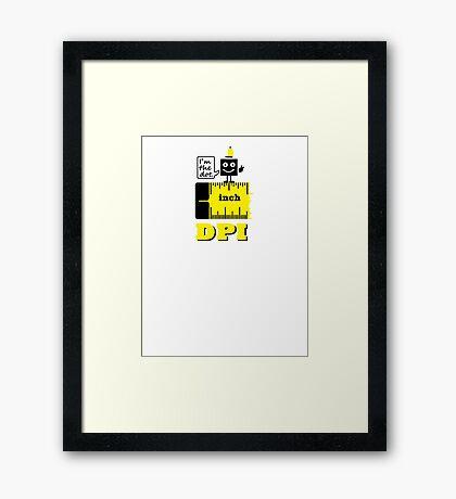 Dot per Inch VRS2 Framed Print