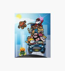 Last Day of Summer Street Fighter Poster Art Board