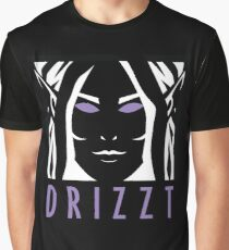 Drizzt Icon Graphic T-Shirt