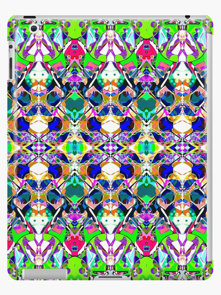 Abstract Symmetry of Colors by Phil Perkins
