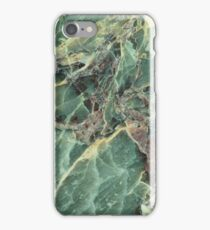 Green marble phone cover iPhone Case/Skin