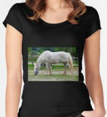 Draft Horse Women's Fitted Scoop T-Shirt