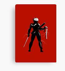 Raiden [Metal Gear Rising] Canvas Print