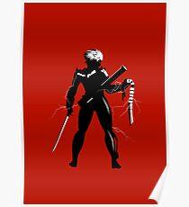 Raiden [Metal Gear Rising] Poster