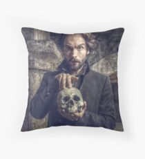Ichabod and Friend Throw Pillow