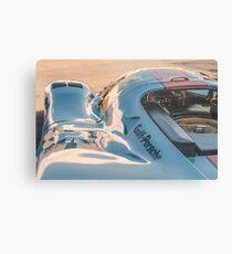 1969 Gulf Porsche 917, chassis 017/004: aero details Metal Print